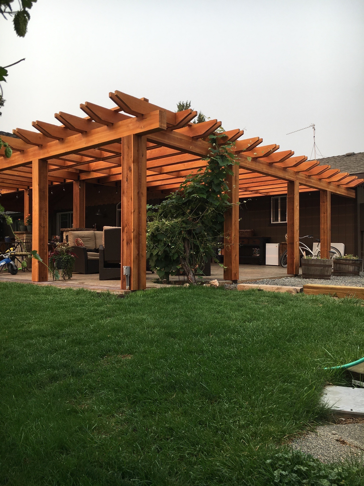 H2HandyPro.Pergola.OutdoorLiving.SmithROck.Oregon