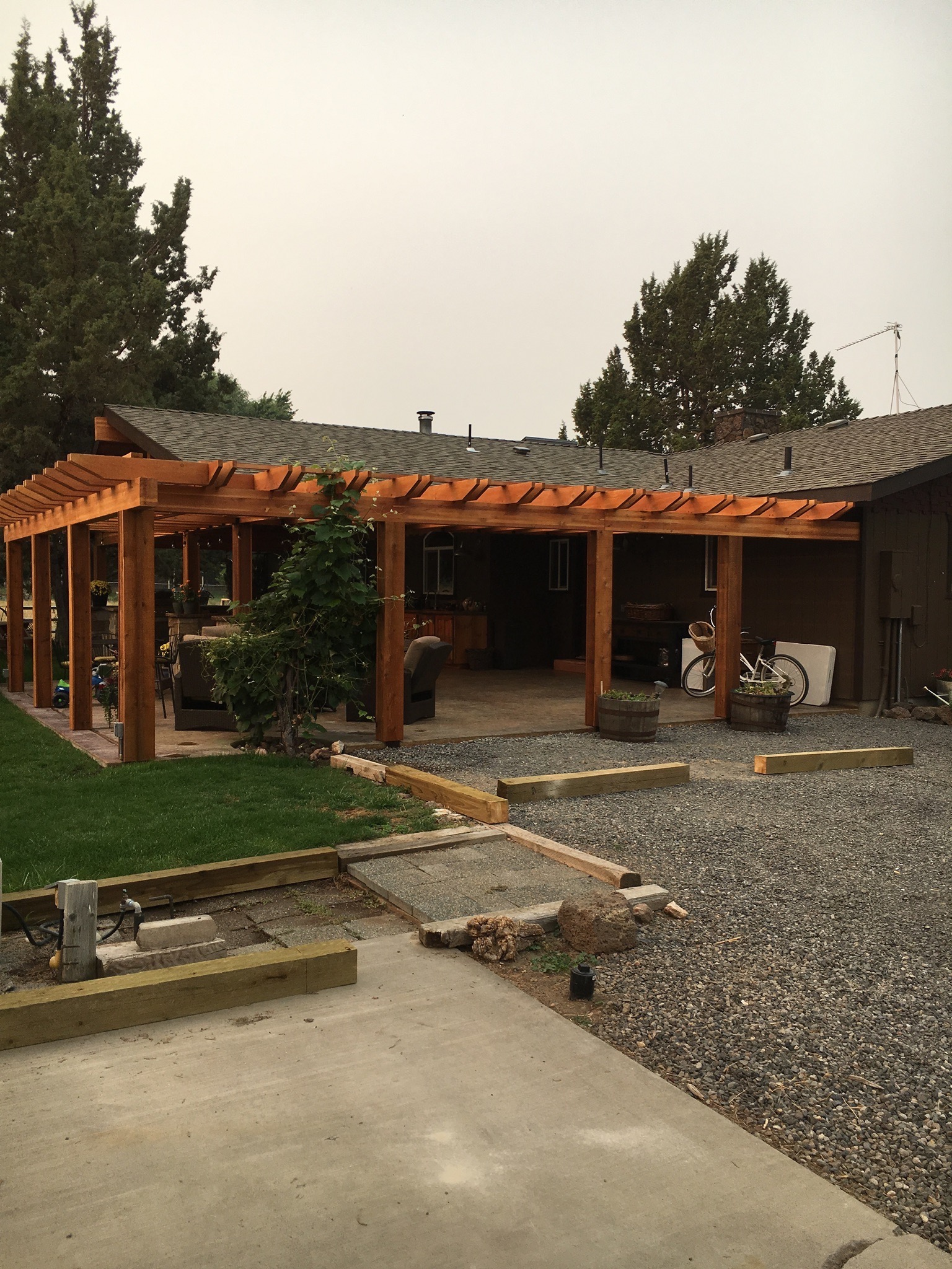 Pergola.Pavillion.OutdoorSpace.H2HandyPro.Terrebonne.OR