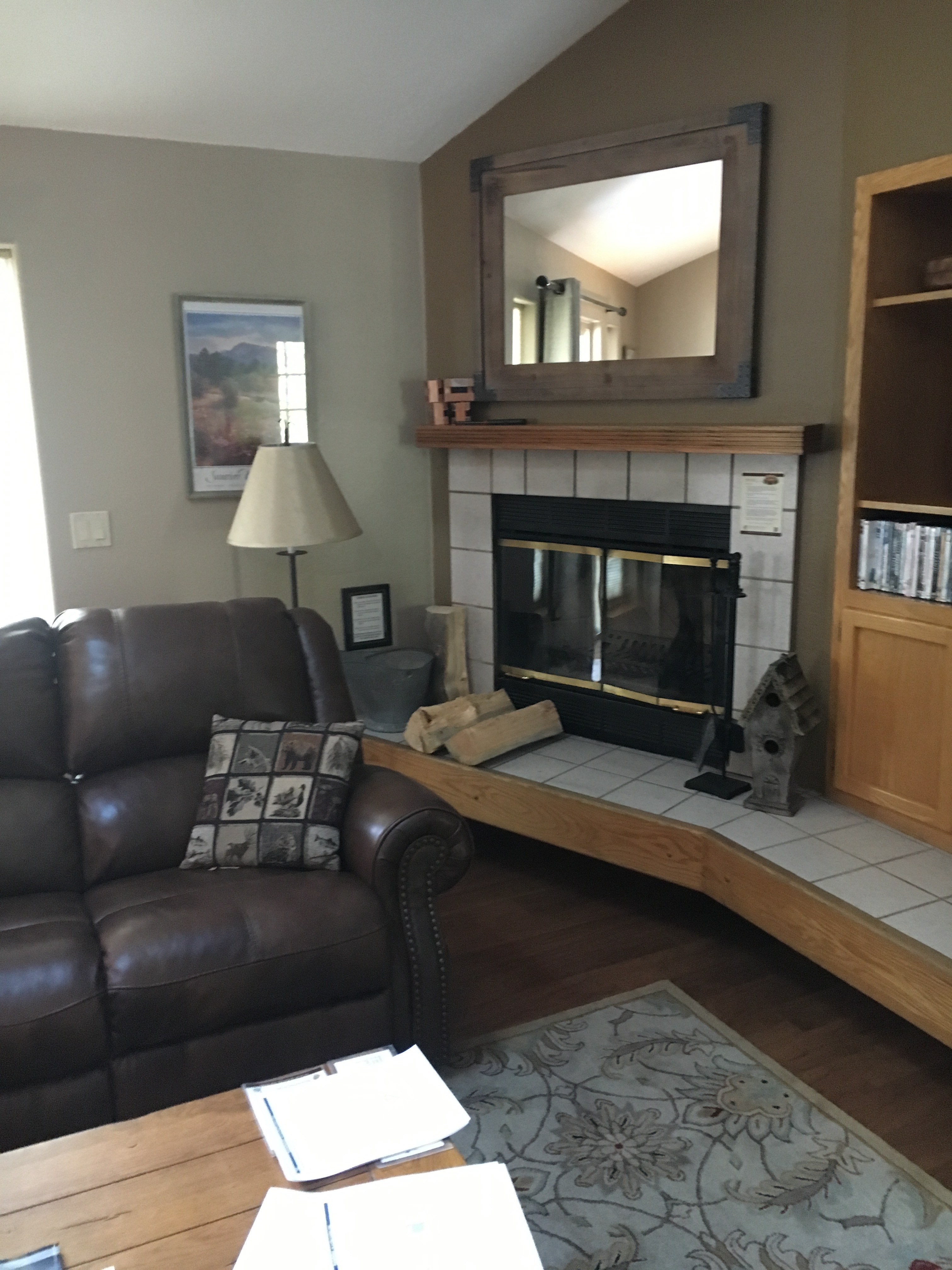BeforeRemodelBy H2HandyPro.Sunriver.Oregon.Fireplace.